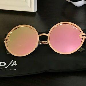 QUAY Australia Ukiyo 60mm Round Sunglasses